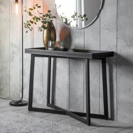 Boho boutique console table