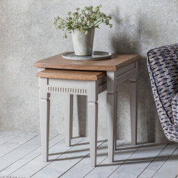 Bronte taupe nest of tables