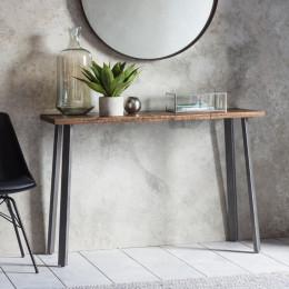 Rustic camden console table