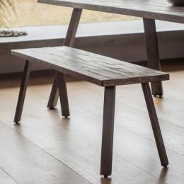 Rustic camden dining bench