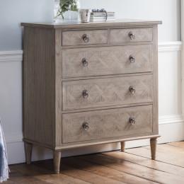 Vintage 5 drawer chest