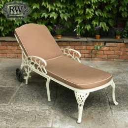 Lyon cream lounger