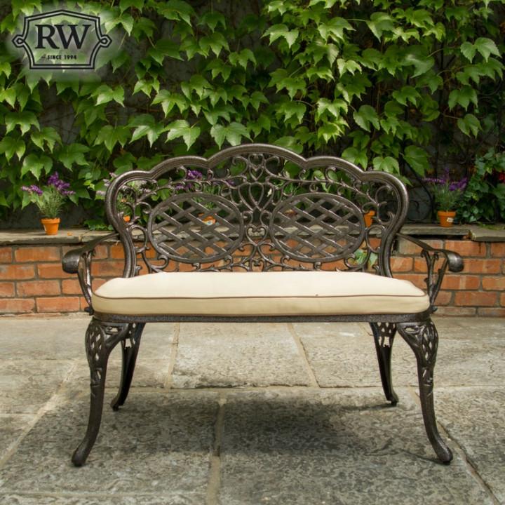 Victoria dark bench