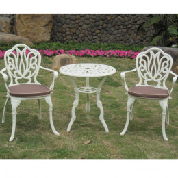 Kinsale cream bistro set