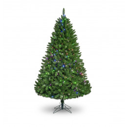 7ft premium prelit multi warm white artificial tree
