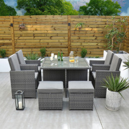 Giardina 4 seater cube set