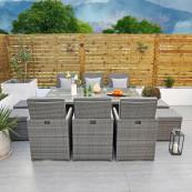 Giardina 6 seater cube set