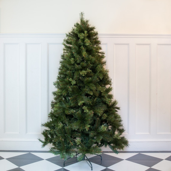 Clearance 8ft premium classic pine artificial christmas tree