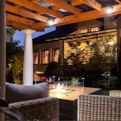 Outdoor gas patio heater q9