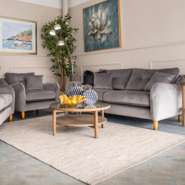 Howard 3 seater sofa grey