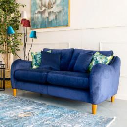 Howard 3 seater sofa navy