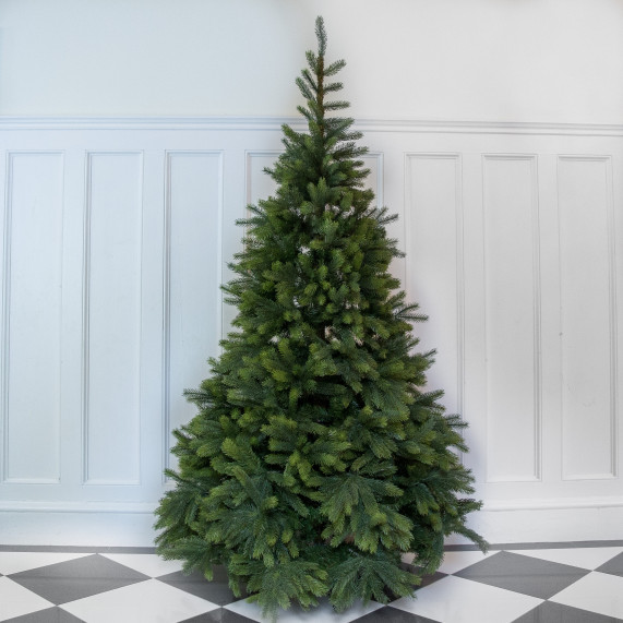 9ft premium icelandic pine artificial christmas tree
