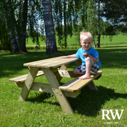 Lisbet kids picnic table and bench