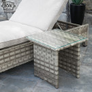 Hampton sun lounger table