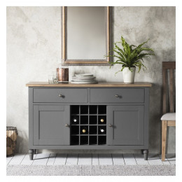 Rustic grey sideboard
