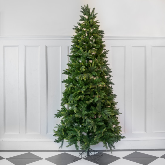 7 5ft premium slim scots pine artificial christmas tree