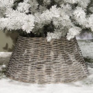 Christmas tree ring grey washed
