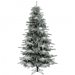 8ft premium white spruce artificial christmas tree