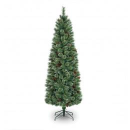 6ft premium white pine artificial christmas tree