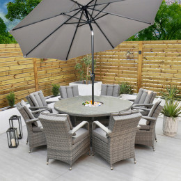 Giardina 8 seater set with ice bucket