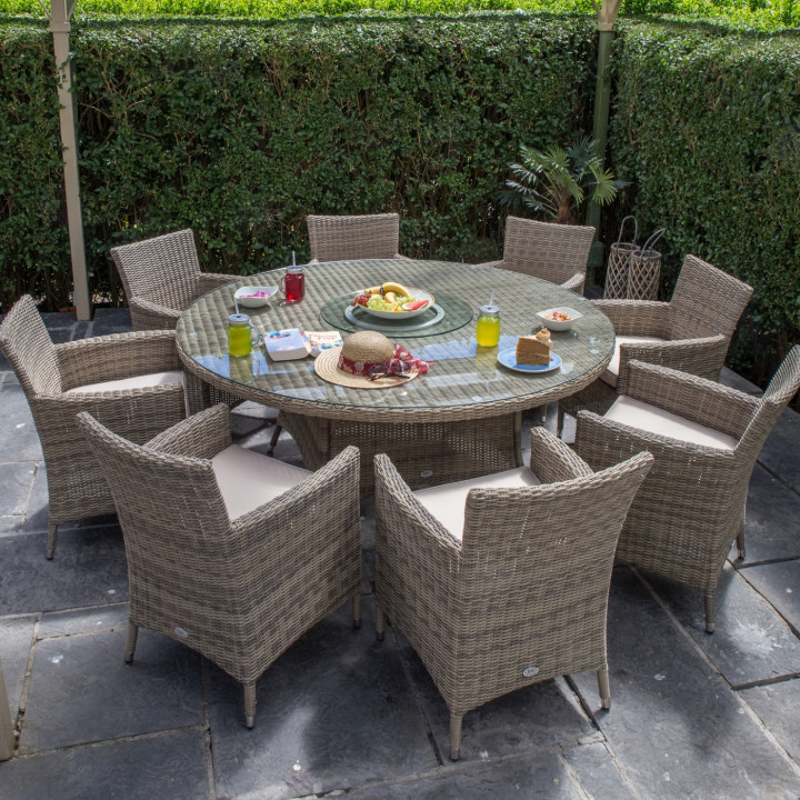 Dumont 8 seater round set