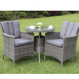 Oxford bistro set dark