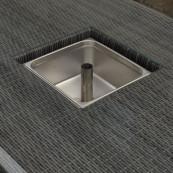 Rw bari 6 seater rectangle set with ice bucket