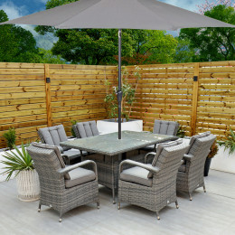 Giardina 6 seater rectangle set