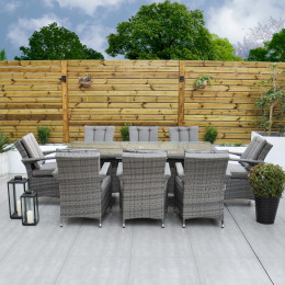 Giardina 8 seater rectangle set