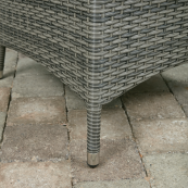 Rw 4 seater square reclining set with ice bucket