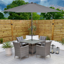 Sahara 4 seater square set