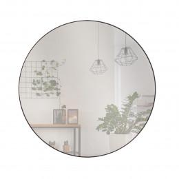 Circle mirror black 80cm