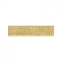 Gold glitter ribbon