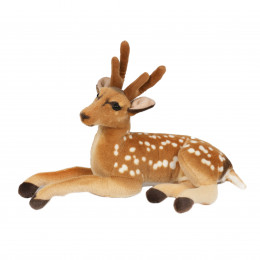 50cm laying deer