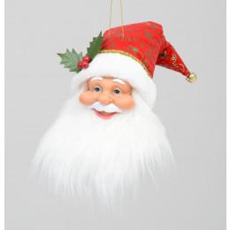 55cm santa head ornament